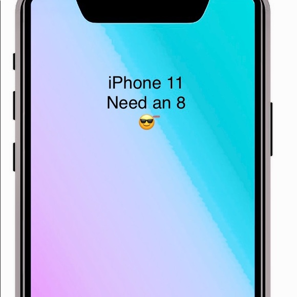 No box but iPhone 11 case included